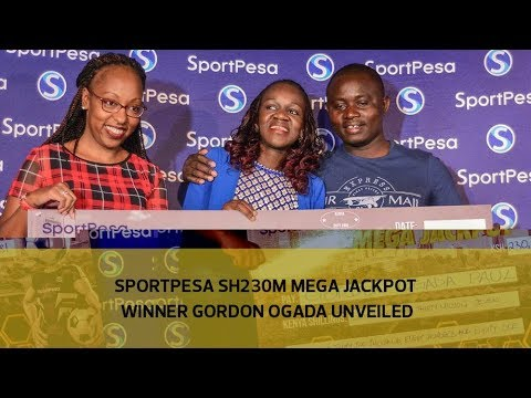 Sportpesa Sh230M mega jackpot winner Gordon Ogada unveiled