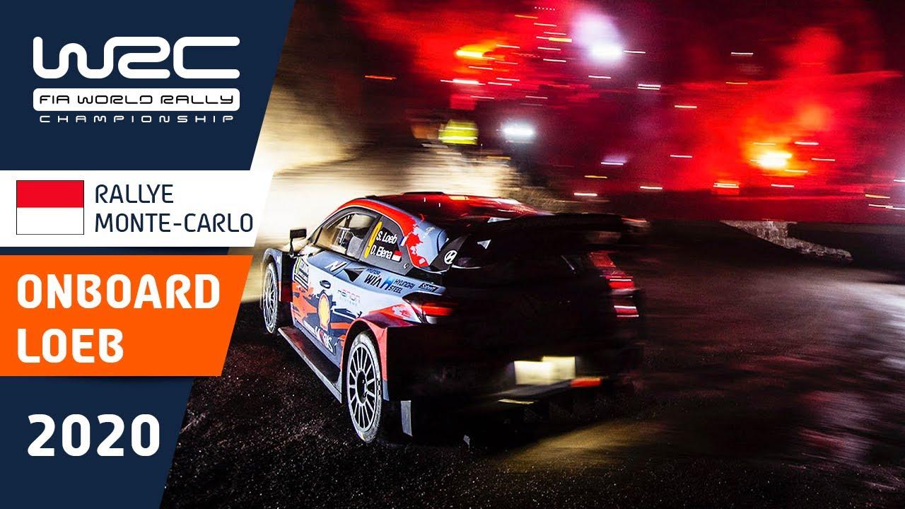 WRC - Rallye Monte-Carlo 2020: ONBOARD Sébastien Loeb