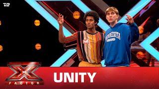 UNITY (Simon og Marcus) synger 'Rude' - Magic (Audition)   X Factor 2021   TV 2