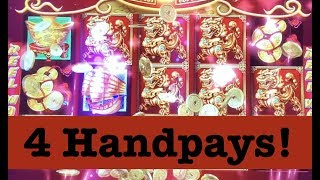 HIGH LIMIT DANCING DRUMS (4) HANDPAYS $52 SPINS & VIEWER REQUESTS