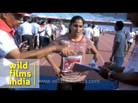 CRPF Half Marathon at Jawaharlal Nehru stadium, Delhi