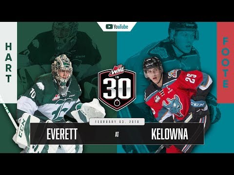 WHL IN 30 || Everett Silvertips vs Kelowna Rockets – February 02, 2018