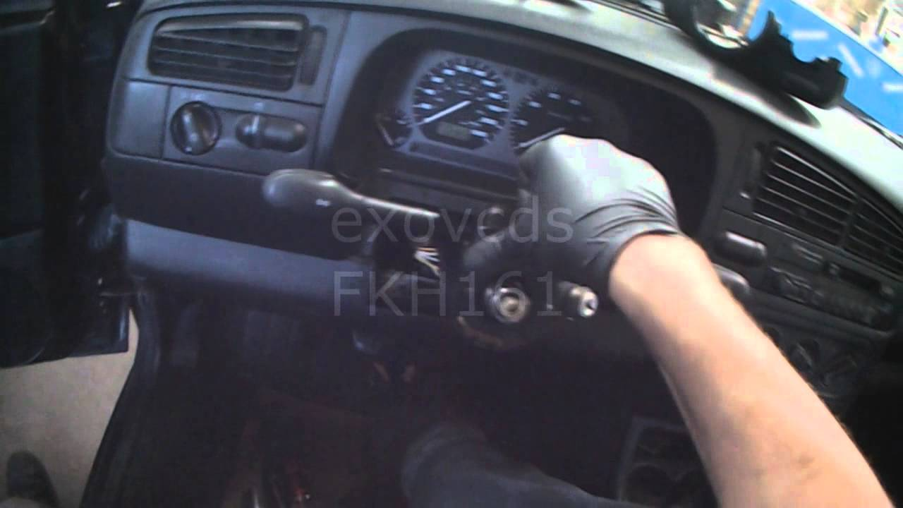 VW A3: Wiper Switch Replacement (Non Airbag) - YouTube
