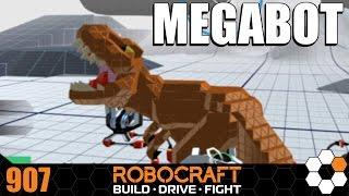 Robocraft Chum Review ARTBOT MEGA T REX MEGABOT by gohten