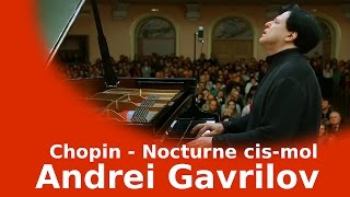 F.Chopin - Nocturne cis-mol - Andrei Gavrilov(Andrei Gavrilov plays F.Chopin`s Nocturne cis-mol «Time Based Stereo», Balance engineer - Ivan Ohar Live from the concert at Liudkevych Concert Hall (Lviv ..., 2016-11-26T14:24:08.000Z)