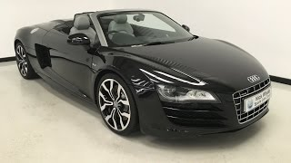 For sale - AUDI R8 SPYDER QUATTRO V10 5.2 R TRONIC - 2010 - Nick Whale Sports Cars