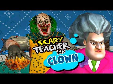 Scary Clown Teacher [Creepy School Teacher] Part 3 - Gameplay - Walkthrough [ios - Android]