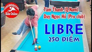 D-BO - Trận bida phăng kinh điển của Tâm Thanh - libre billiards bida gom 당구