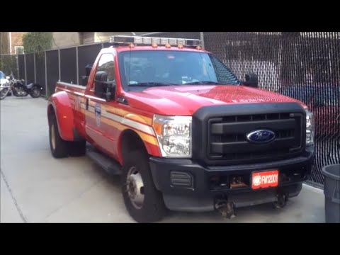 FDNY BFU 6 - Temporary Brush Fire Unit 6 At Its Quarters In Marine Park, Brooklyn