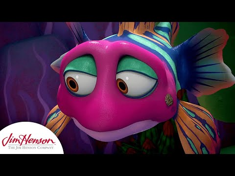 What's On Bubbles Face? | Splash and Bubbles | The Jim Henson Company