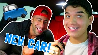 HE GAVE ME HIS CAR!