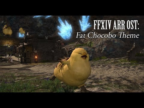 FF14 Online Black Fat Chocobo mount free at Amazon with $20