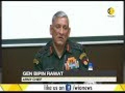 "Inidan Army chief's China concern; ""China challenging the might of the US"" says, Bipin Rawat"