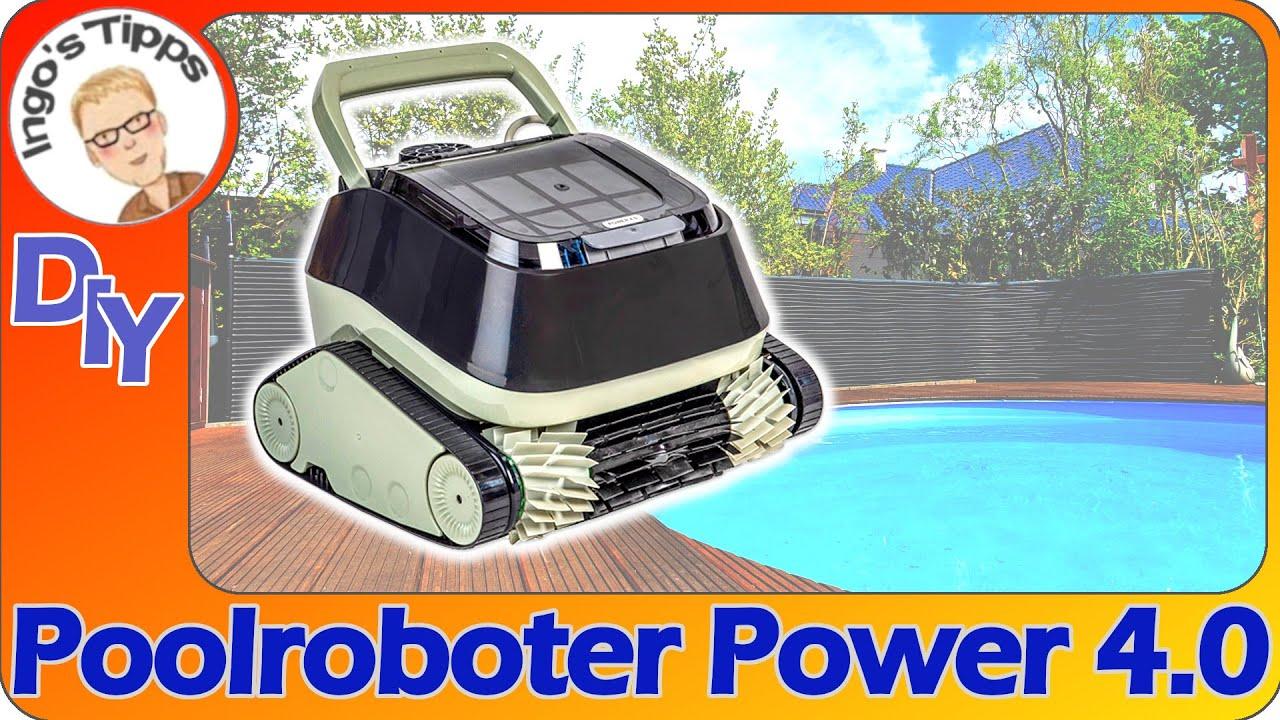Mein neuer Poolroboter Power 4.0 erstmalig im Einsatz | Wie sauber wird der Pool ? | IngosTipps