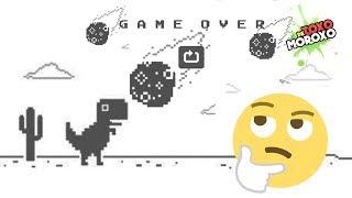 ¿Cuanto Tiempo Tardarías en llegar al Final del Juego del Dinosaurio de Google?