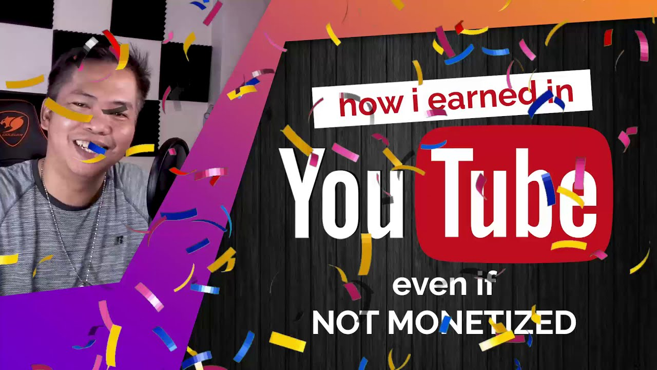 Earning EXTRA cash on Youtube even if NOT MONETIZED