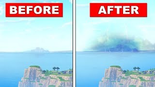SEASON 7 WINTER CLOUDS ARE COMING CLOSER AND GETTING BIGGER (Fortnite Battle Royale)