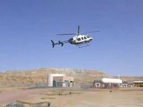 """Guardian """"Angel 4"""" lands at Second Mesa Day School 25Apr08"""