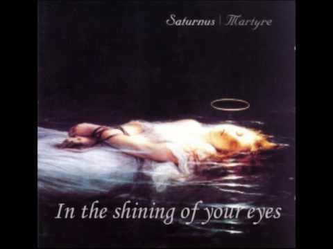 Saturnus  In your shining eyes with lyrics