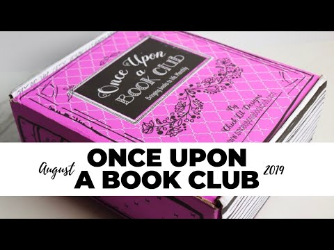 Once Upon a Book Club Review August 2019: Book Subscription Box
