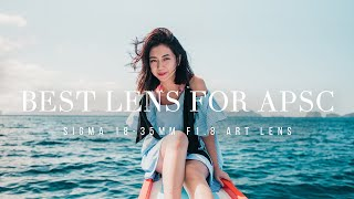 Sigma Art 18-35mm F1.8 DC HSM Cinematic Review || STILL The BEST LENS For APSC?