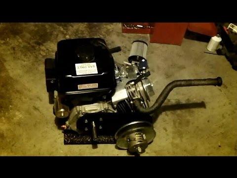 Go Kart project - Predator 420cc - performance parts - custom seat -  painted frame
