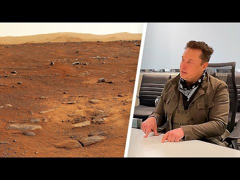 Download Mars 2021 in VR 360° from Perseverance Mastcam-Z and Elon Musk on first people on Mars