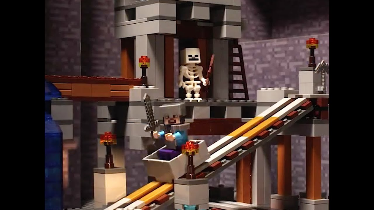Mine Confusion LEGO Minecraft Stop Motion YouTube - Lego minecraft spiele online