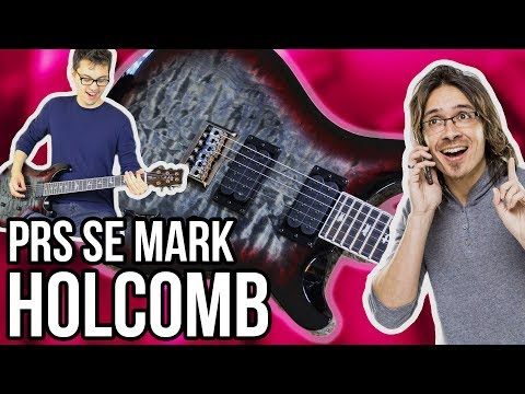 PRS SE Mark Holcomb Signature Demo/Review || Featuring Seymour Duncan Alpha and Omega Pickups!!