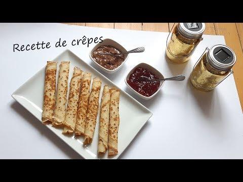 recette-de-crêpes-facile-/-طريقة-تحضير-الكريب-الفرنسي