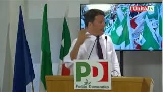 Intervento di Matteo Renzi in Direzione Pd, 30 maggio 2017