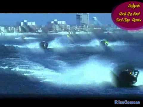 Aaliyah  Rock the Boat   ~ Soul Clap Remix ~