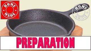 ПОДГОТОВКА ЧУГУННОЙ СКОВОРОДЫ К ИСПОЛЬЗОВАНИЮ(Чугунная посуда очень надежная, экологически чистая, она хорошо держит температуру, блинчики на чугунной..., 2015-12-16T20:05:46.000Z)