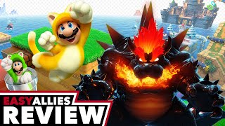 Super Mario 3D World + Bowser's Fury - Easy Allies Review (Video Game Video Review)