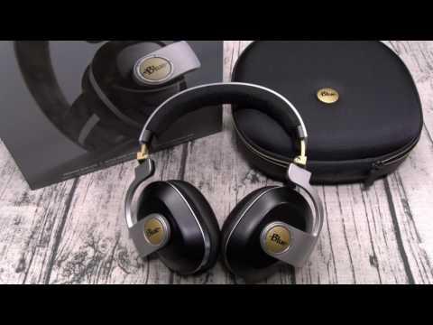 Blue Satellite Premium Wireless Noise-Cancelling Headphones with Audiophile Amp