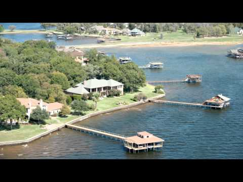 Aerial - Cedar Creek Lake, Texas