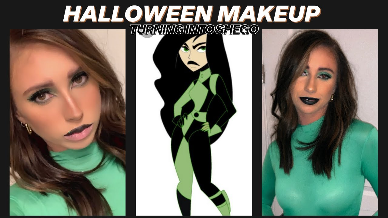 Grwm Halloween Edition Shego Youtube Natural makeup tutorial   grwm outfit + makeup + hair ♡. youtube