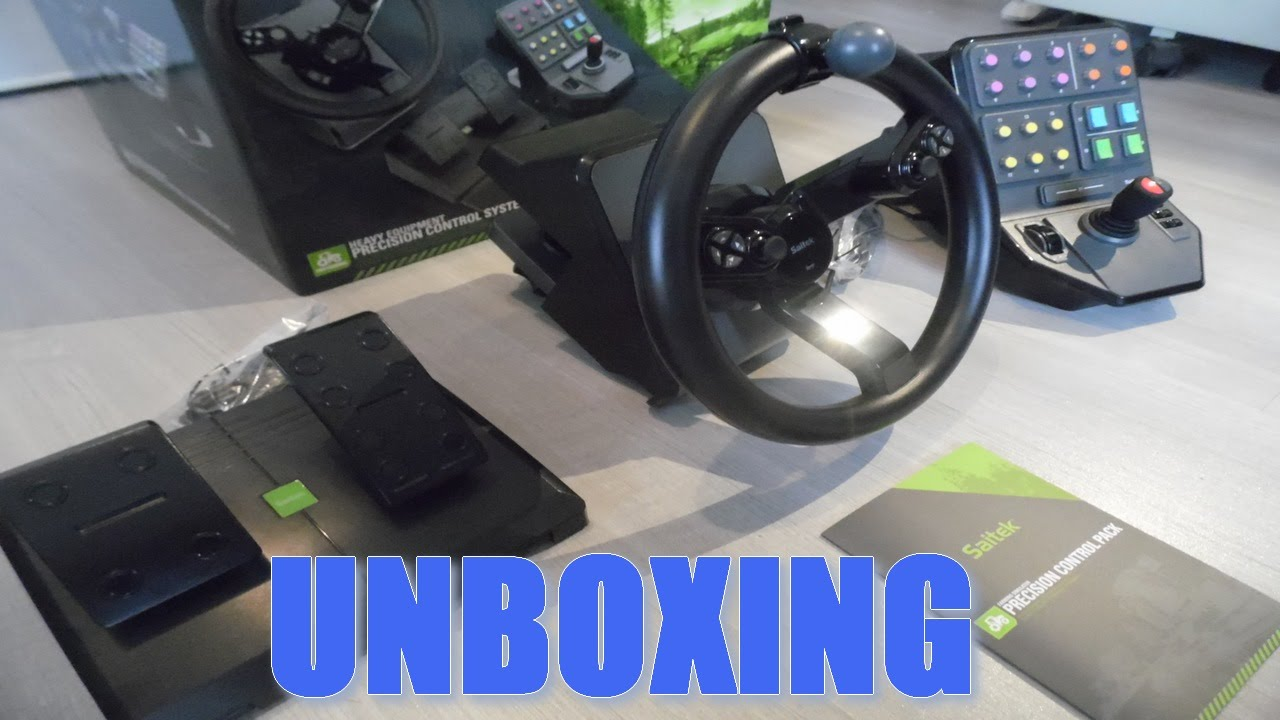 unboxing colis de cdiscount volant farming simulator saitek mad catz fr youtube. Black Bedroom Furniture Sets. Home Design Ideas