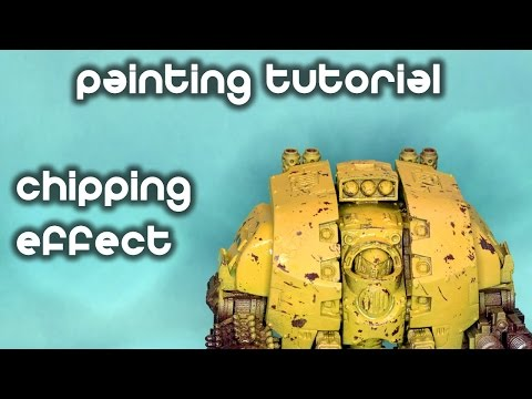 How To Paint Chipped Armour