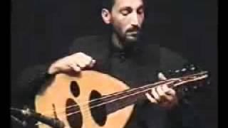 Naseer Shamma - Virtuosismo con el oud (laud árabe) - Incredible left hand.