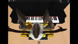 Roblox Virtual Piano (Alone - Alan Walker)