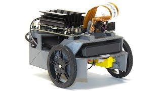 NVIDIA JetBot: Jetson Nano Vision-Controlled AI Robot