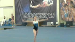 Аня.Спортивная гимнастика.1 разряд
