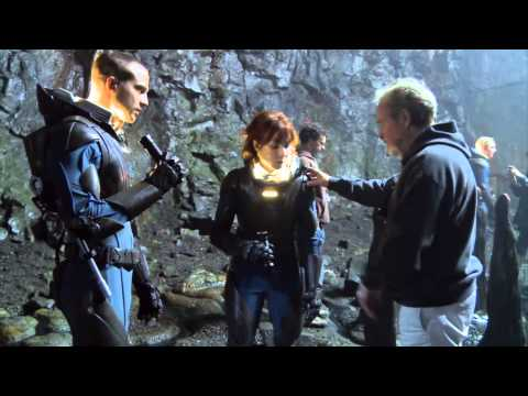 Prometheus Behind the Scenes Reel Official 2012 [1080 HD]