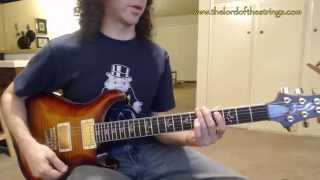 Tremolo Picking - Guitar Picking Speed Exercises and Variations