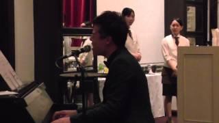 【感動!】新郎の弟が歌う Preciousー伊藤由奈 ~COVER~ 結婚式 余興 ピアノ弾き語り 2015/01/18
