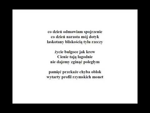 Zbigniew Herbert Trzy Wiersze Z Pamięci