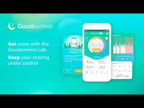 Try Goodsomnia Lab for deep snoring analysis