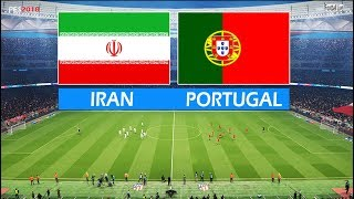 PES 2018 | IRAN vs PORTUGAL | Full Match & Amazing Goals | Gameplay PC