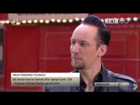 Michael Poulsen (Volbeat) Interview on Danish TV